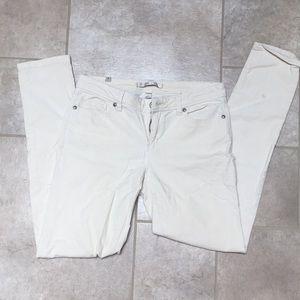Cream Lauren Conrad Corduroy pant size 6